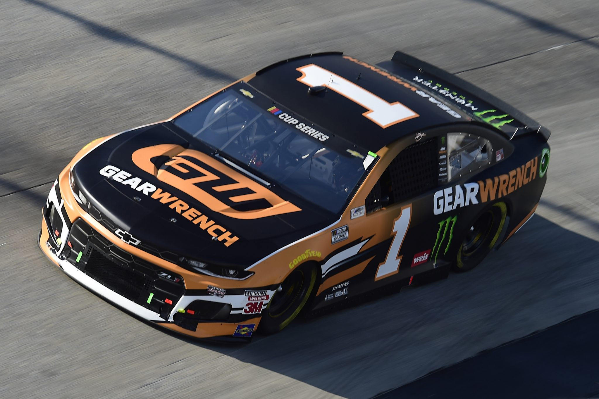 DOVER, DELAWARE - AUGUST 23: Kurt Busch, driver of the #1 GEARWRENCH Chevrolet, drives during the NASCAR Cup Series Drydene 311 at Dover International Speedway on August 23, 2020 in Dover, Delaware. (Photo by Jared C. Tilton/Getty Images) | Getty Images