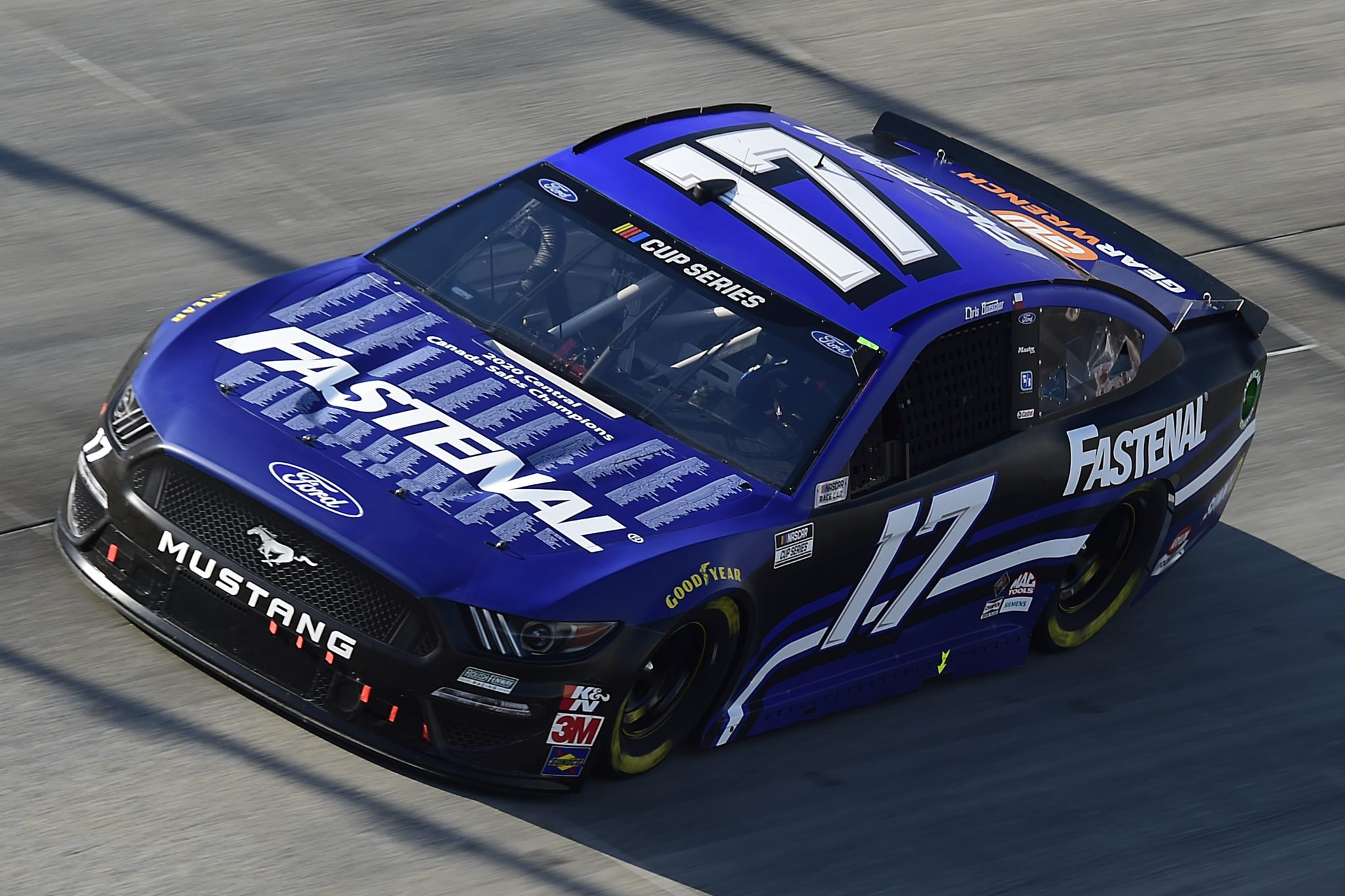 DOVER, DELAWARE - AUGUST 23: Chris Buescher, driver of the #17 Fastenal Ford, drives during the NASCAR Cup Series Drydene 311 at Dover International Speedway on August 23, 2020 in Dover, Delaware. (Photo by Jared C. Tilton/Getty Images) | Getty Images