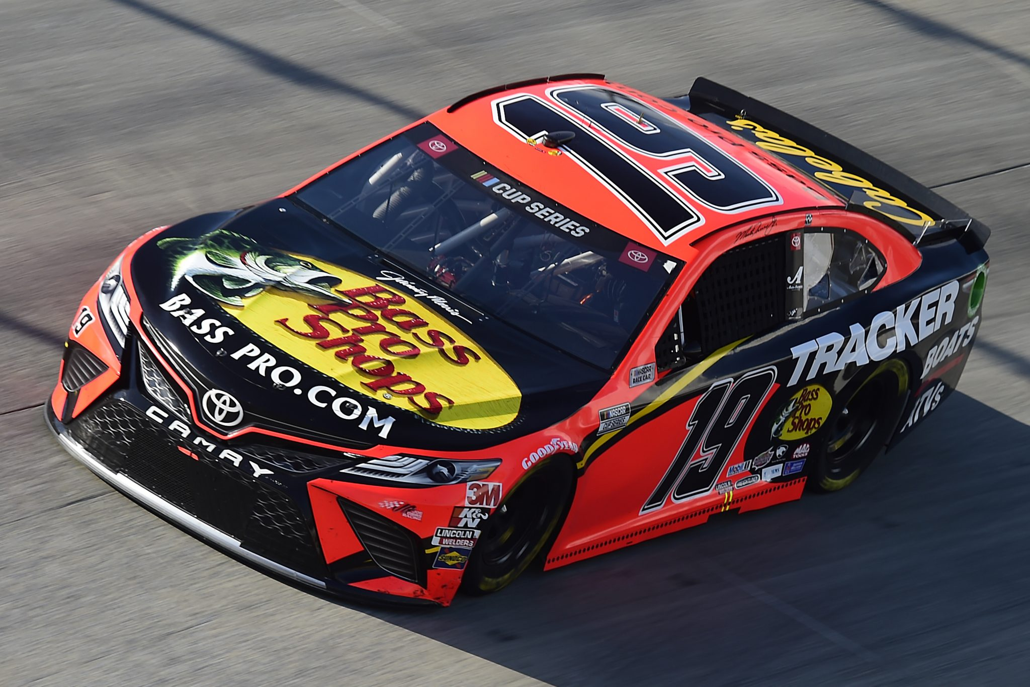 DOVER, DELAWARE - AUGUST 23: Martin Truex Jr., driver of the #19 Bass Pro Shops Toyota, drives during the NASCAR Cup Series Drydene 311 at Dover International Speedway on August 23, 2020 in Dover, Delaware. (Photo by Jared C. Tilton/Getty Images) | Getty Images