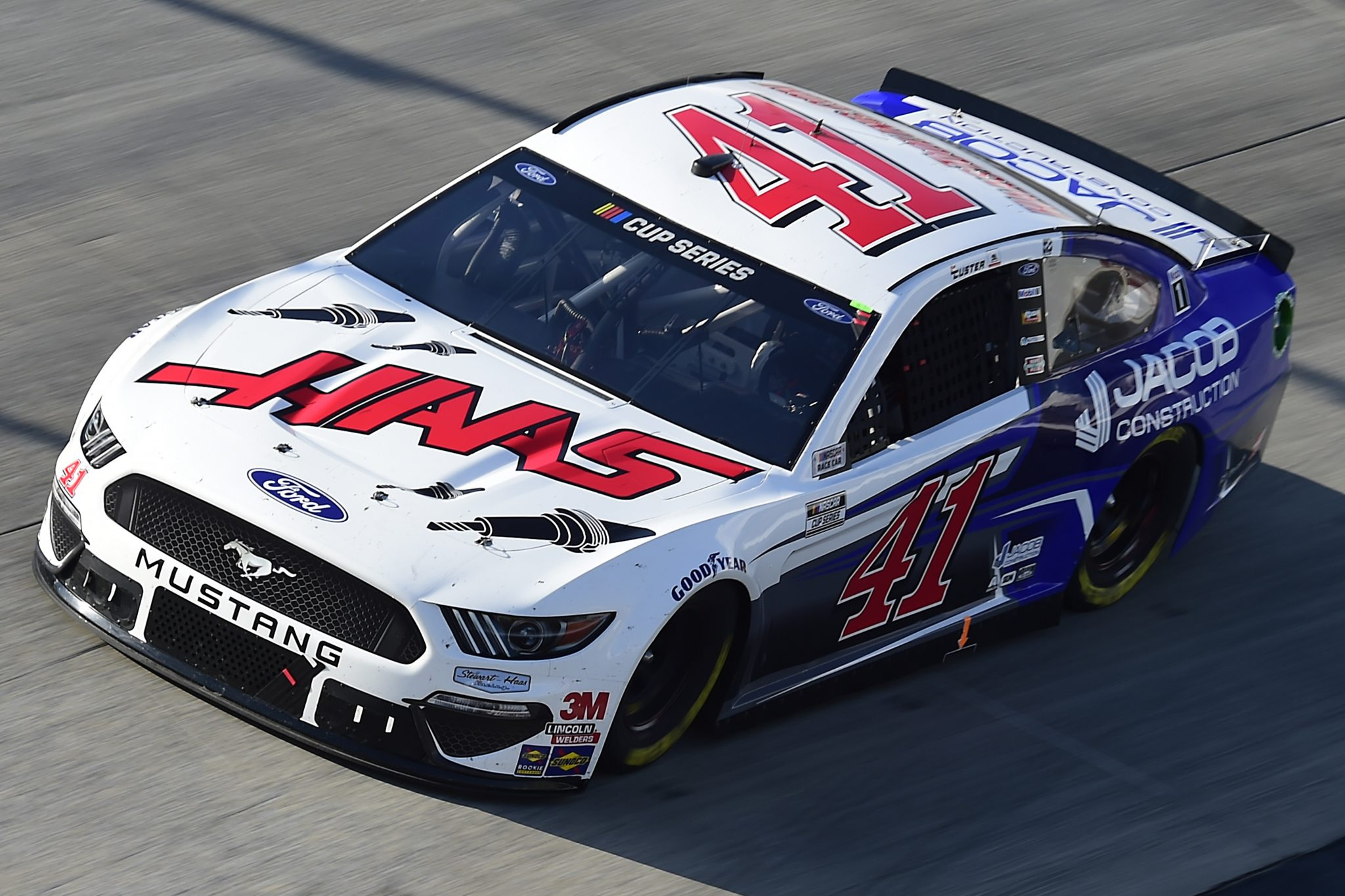 DOVER, DELAWARE - AUGUST 23: Cole Custer, driver of the #41 HaasTooling.com/Jacom Co Ford, drives during the NASCAR Cup Series Drydene 311 at Dover International Speedway on August 23, 2020 in Dover, Delaware. (Photo by Jared C. Tilton/Getty Images) | Getty Images