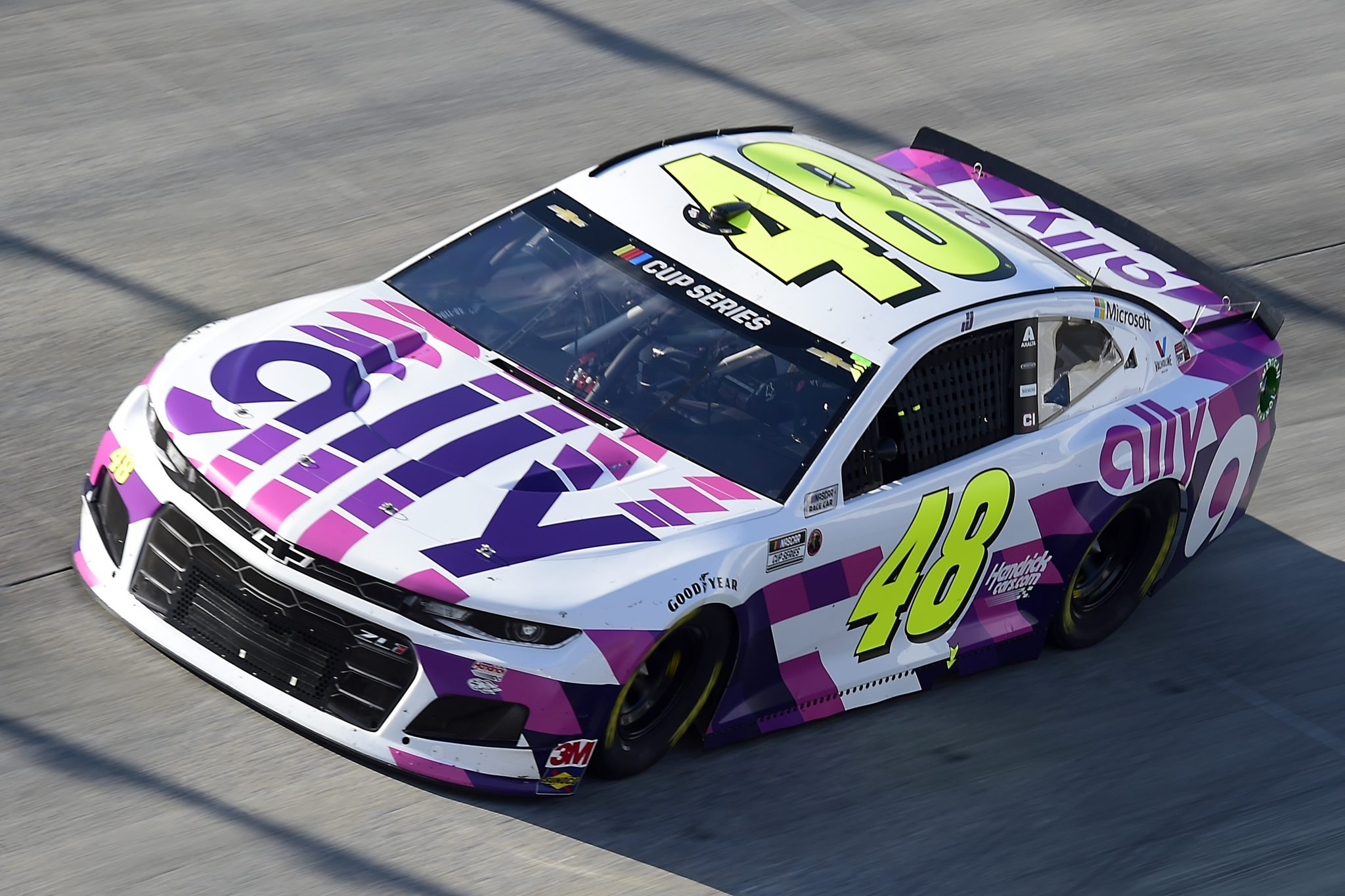 DOVER, DELAWARE - AUGUST 23: Jimmie Johnson, driver of the #48 Ally Chevrolet, drives during the NASCAR Cup Series Drydene 311 at Dover International Speedway on August 23, 2020 in Dover, Delaware. (Photo by Jared C. Tilton/Getty Images) | Getty Images