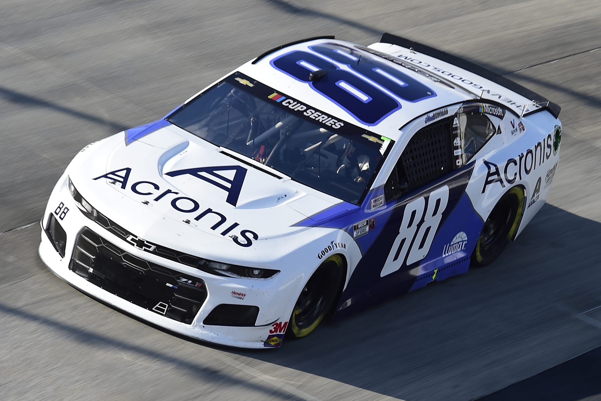 DOVER, DELAWARE - AUGUST 23: Alex Bowman, driver of the #88 Acronis Chevrolet, drives during the NASCAR Cup Series Drydene 311 at Dover International Speedway on August 23, 2020 in Dover, Delaware. (Photo by Jared C. Tilton/Getty Images) | Getty Images