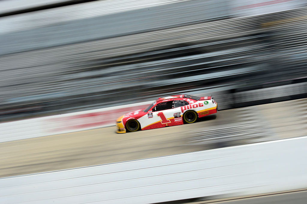 DOVER, DELAWARE - AUGUST 22: Michael Annett, driver of the #1 Pilot/Flying J Chevrolet, drives during the NASCAR Xfinity Series Drydene 200 at Dover International Speedway on August 22, 2020 in Dover, Delaware. (Photo by Jared C. Tilton/Getty Images) | Getty Images