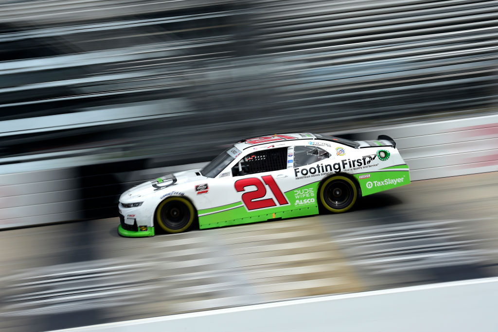 DOVER, DELAWARE - AUGUST 22: Anthony Alfredo, driver of the #21 ADS/Footing First Chevrolet, drives during the NASCAR Xfinity Series Drydene 200 at Dover International Speedway on August 22, 2020 in Dover, Delaware. (Photo by Jared C. Tilton/Getty Images) | Getty Images