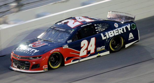 DAYTONA BEACH, FLORIDA - AUGUST 29: William Byron, driver of the #24 Liberty University Chevrolet, drives during the NASCAR Cup Series Coke Zero Sugar 400 at Daytona International Speedway on August 29, 2020 in Daytona Beach, Florida. (Photo by Chris Graythen/Getty Images) | Getty Images