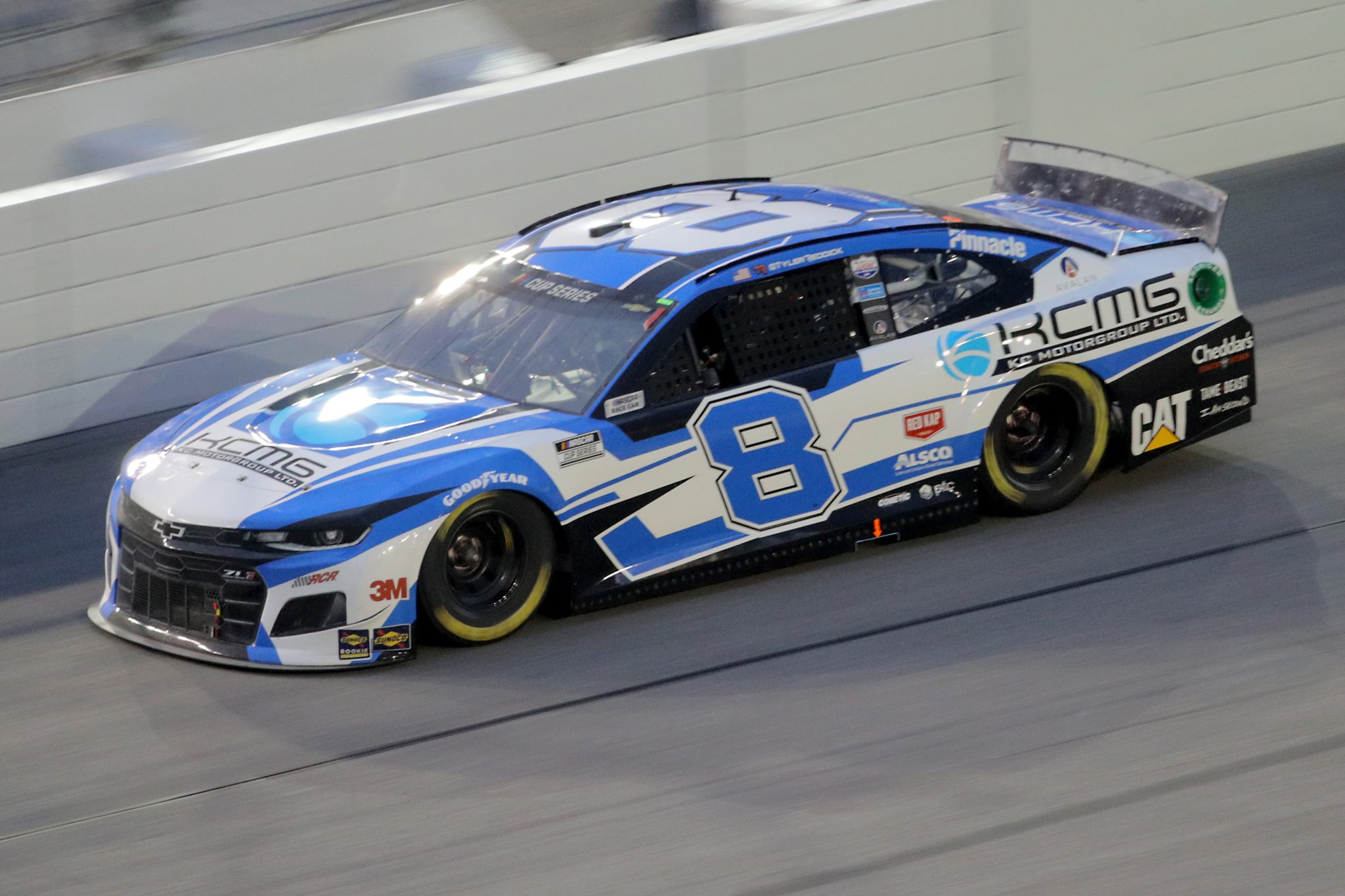 DAYTONA BEACH, FLORIDA - AUGUST 29: Tyler Reddick, driver of the #8 Chevrolet, drives during the NASCAR Cup Series Coke Zero Sugar 400 at Daytona International Speedway on August 29, 2020 in Daytona Beach, Florida. (Photo by Chris Graythen/Getty Images) | Getty Images
