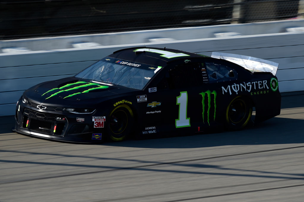 BROOKLYN, MICHIGAN - AUGUST 08: Kurt Busch, driver of the #1 Monster Energy Chevrolet, drives during the NASCAR Cup Series FireKeepers Casino 400 at Michigan at Michigan International Speedway on August 08, 2020 in Brooklyn, Michigan. (Photo by Jared C. Tilton/Getty Images) | Getty Images