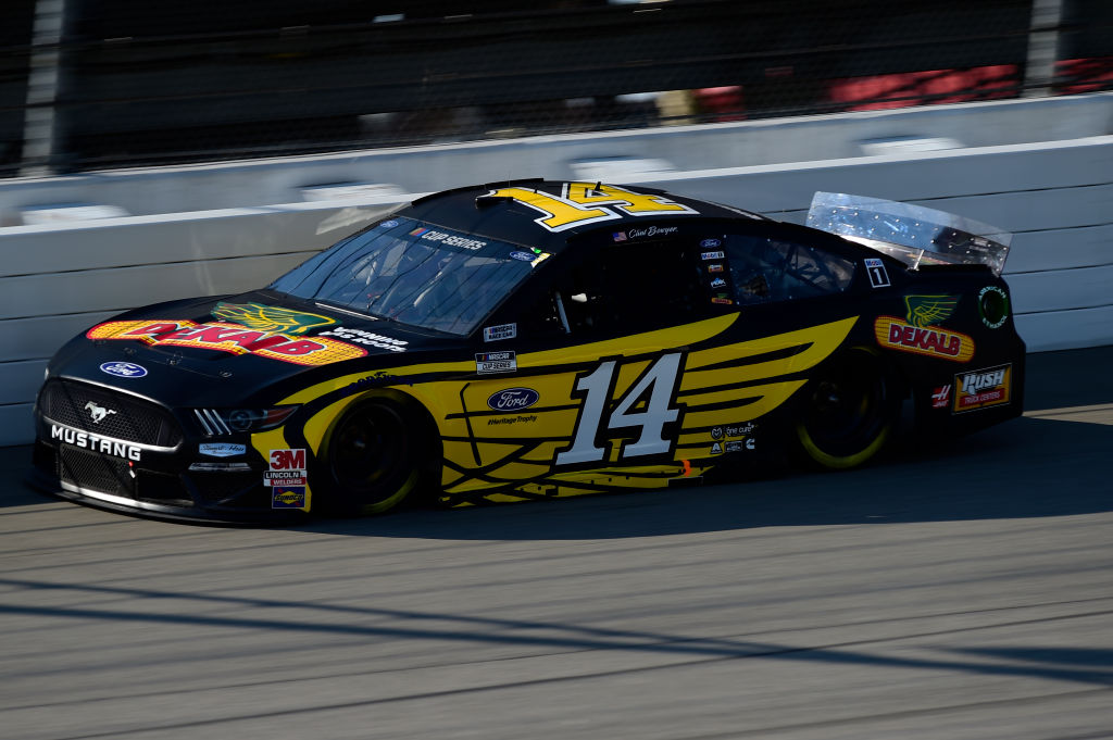 BROOKLYN, MICHIGAN - AUGUST 08: Clint Bowyer, driver of the #14 DEKALB Ford, drives during the NASCAR Cup Series FireKeepers Casino 400 at Michigan at Michigan International Speedway on August 08, 2020 in Brooklyn, Michigan. (Photo by Jared C. Tilton/Getty Images) | Getty Images