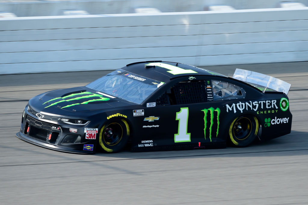 BROOKLYN, MICHIGAN - AUGUST 09: Kurt Busch, driver of the #1 Monster Energy Chevrolet, drives during the NASCAR Cup Series Consumers Energy 400 at Michigan at Michigan International Speedway on August 09, 2020 in Brooklyn, Michigan. (Photo by Jared C. Tilton/Getty Images) | Getty Images
