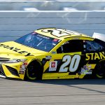 BROOKLYN, MICHIGAN - AUGUST 09: Erik Jones, driver of the #20 STANLEY Toyota, drives during the NASCAR Cup Series Consumers Energy 400 at Michigan at Michigan International Speedway on August 09, 2020 in Brooklyn, Michigan. (Photo by Jared C. Tilton/Getty Images) | Getty Images