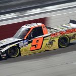 RICHMOND, VIRGINIA - SEPTEMBER 10: Codie Rohrbaugh, driver of the #9 Pray for Joshua Chevrolet, drives during the NASCAR Gander Outdoors Truck Series ToyotaCare 250 at Richmond Raceway on September 10, 2020 in Richmond, Virginia. (Photo by Jared C. Tilton/Getty Images) | Getty Images