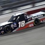 RICHMOND, VIRGINIA - SEPTEMBER 10: Christian Eckes, driver of the #18 Safelite AutoGlass Toyota, drives during the NASCAR Gander Outdoors Truck Series ToyotaCare 250 at Richmond Raceway on September 10, 2020 in Richmond, Virginia. (Photo by Jared C. Tilton/Getty Images) | Getty Images