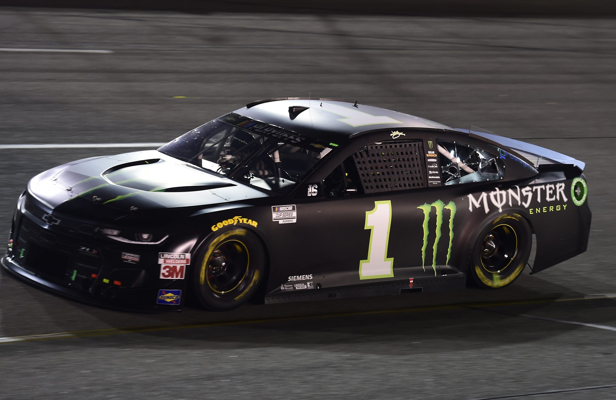 RICHMOND, VIRGINIA - SEPTEMBER 12: Kurt Busch, driver of the #1 Monster Energy Chevrolet, drives during the NASCAR Cup Series Federated Auto Parts 400 at Richmond Raceway on September 12, 2020 in Richmond, Virginia. (Photo by Jared C. Tilton/Getty Images) | Getty Images
