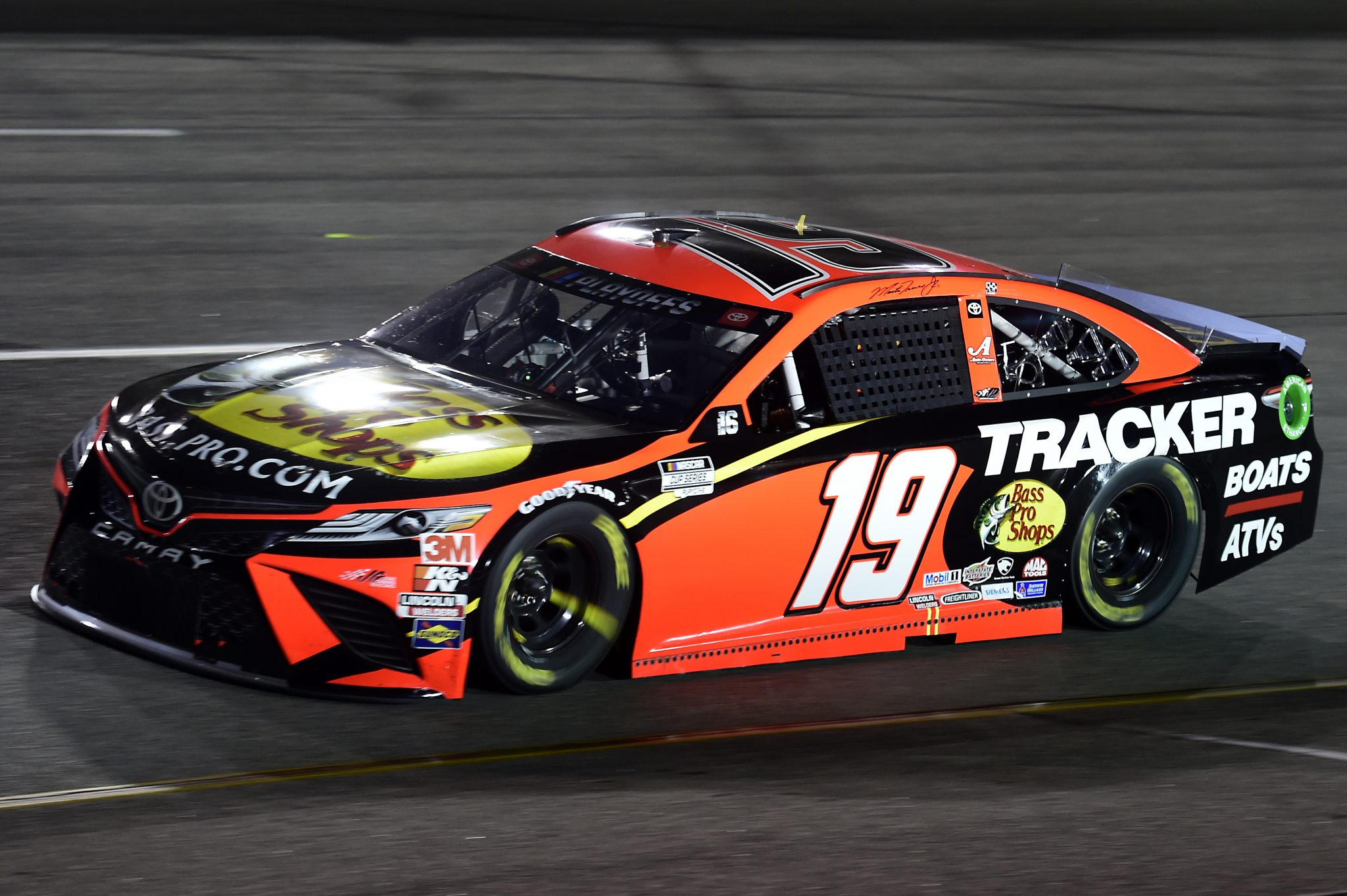 RICHMOND, VIRGINIA - SEPTEMBER 12: Martin Truex Jr., driver of the #19 Bass Pro Shops Toyota, drives during the NASCAR Cup Series Federated Auto Parts 400 at Richmond Raceway on September 12, 2020 in Richmond, Virginia. (Photo by Jared C. Tilton/Getty Images) | Getty Images