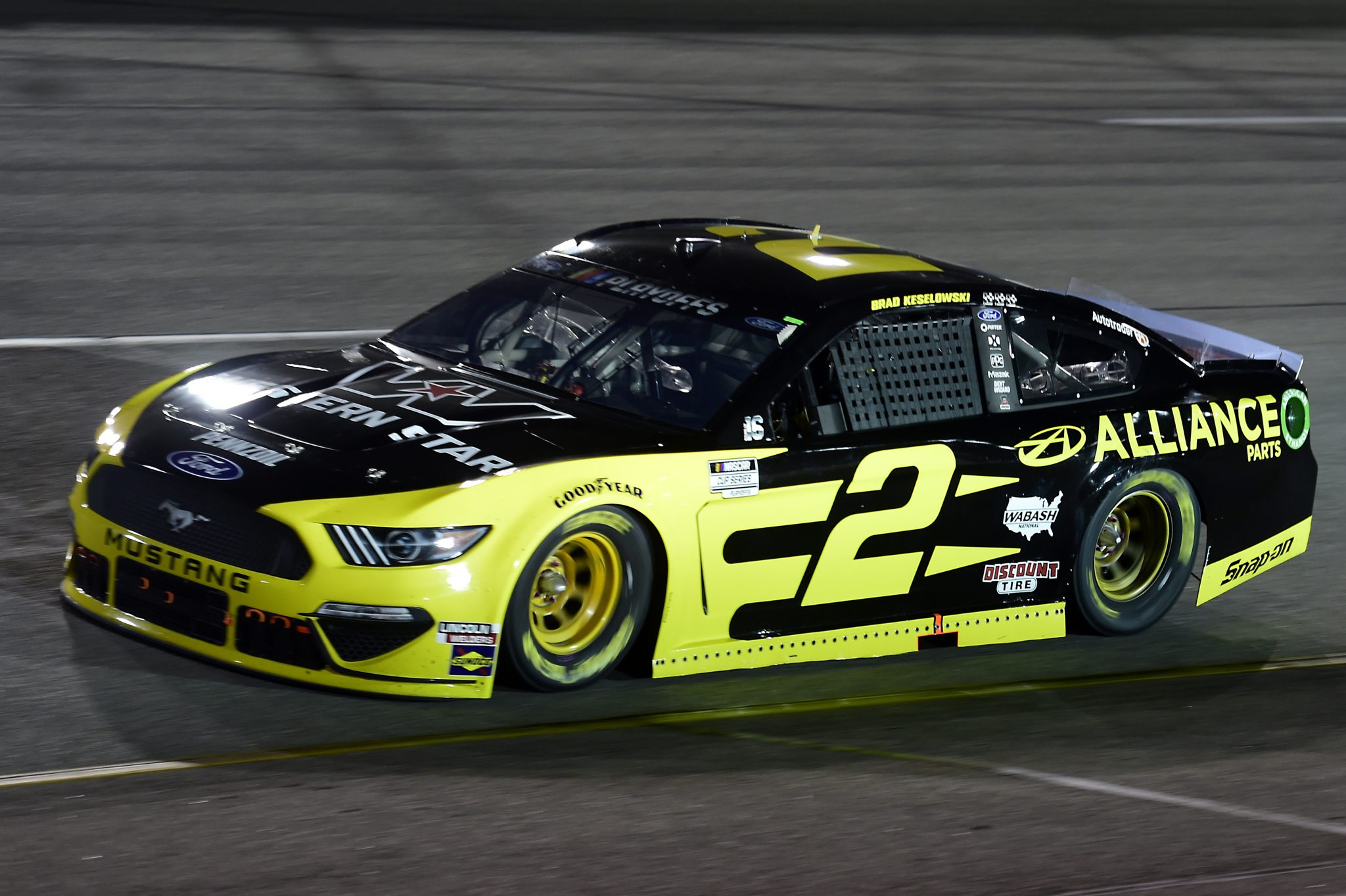 RICHMOND, VIRGINIA - SEPTEMBER 12: Brad Keselowski, driver of the #2 Western Star/Alliance Parts Ford, drives during the NASCAR Cup Series Federated Auto Parts 400 at Richmond Raceway on September 12, 2020 in Richmond, Virginia. (Photo by Jared C. Tilton/Getty Images) | Getty Images