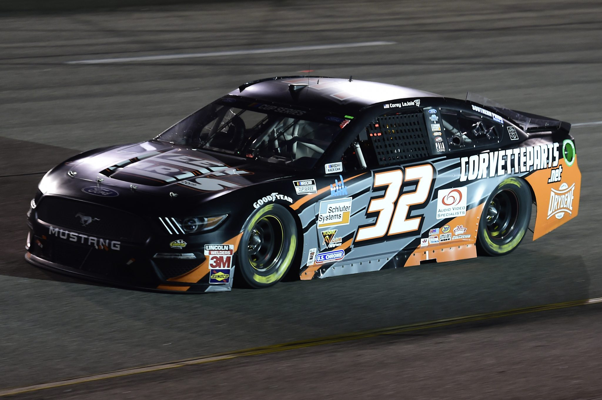RICHMOND, VIRGINIA - SEPTEMBER 12: Corey LaJoie, driver of the #32 Keen Parts Ford, drives during the NASCAR Cup Series Federated Auto Parts 400 at Richmond Raceway on September 12, 2020 in Richmond, Virginia. (Photo by Jared C. Tilton/Getty Images) | Getty Images