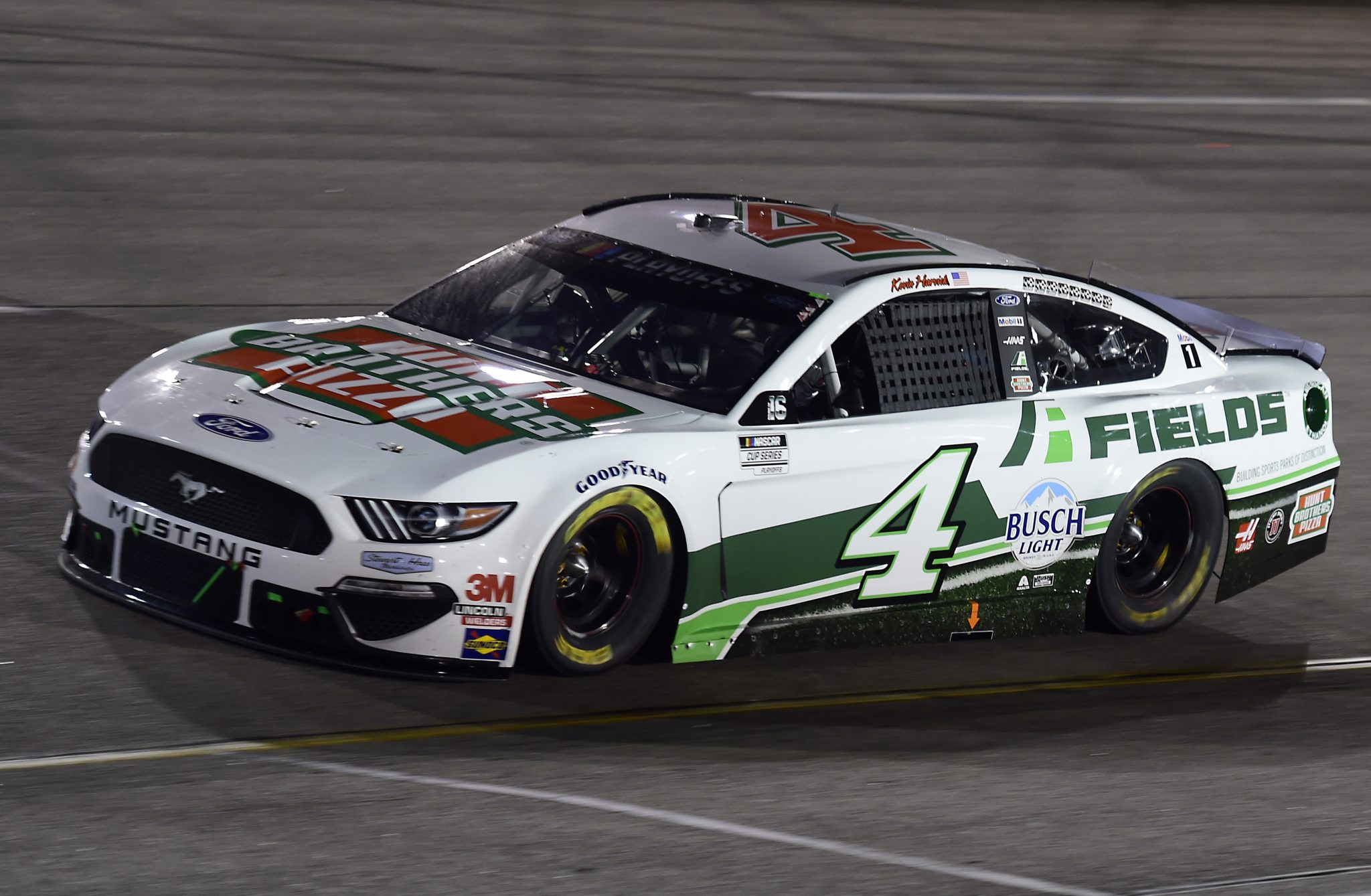 RICHMOND, VIRGINIA - SEPTEMBER 12: Kevin Harvick, driver of the #4 Hunt Brothers Pizza Ford, drives during the NASCAR Cup Series Federated Auto Parts 400 at Richmond Raceway on September 12, 2020 in Richmond, Virginia. (Photo by Jared C. Tilton/Getty Images) | Getty Images