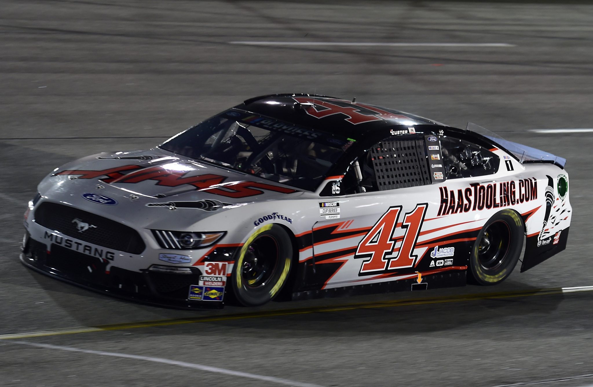 RICHMOND, VIRGINIA - SEPTEMBER 12: Cole Custer, driver of the #41 HaasTooling.com Ford, drives during the NASCAR Cup Series Federated Auto Parts 400 at Richmond Raceway on September 12, 2020 in Richmond, Virginia. (Photo by Jared C. Tilton/Getty Images) | Getty Images