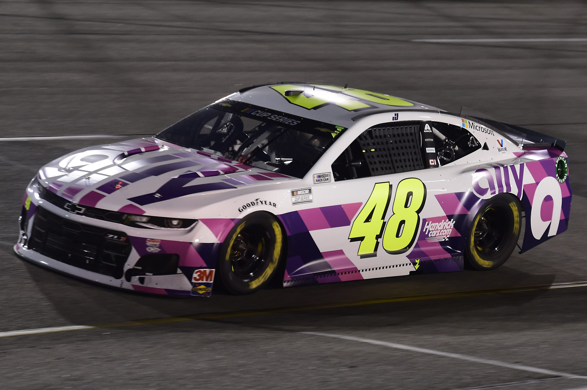 RICHMOND, VIRGINIA - SEPTEMBER 12: Jimmie Johnson, driver of the #48 Ally Chevrolet, drives during the NASCAR Cup Series Federated Auto Parts 400 at Richmond Raceway on September 12, 2020 in Richmond, Virginia. (Photo by Jared C. Tilton/Getty Images) | Getty Images