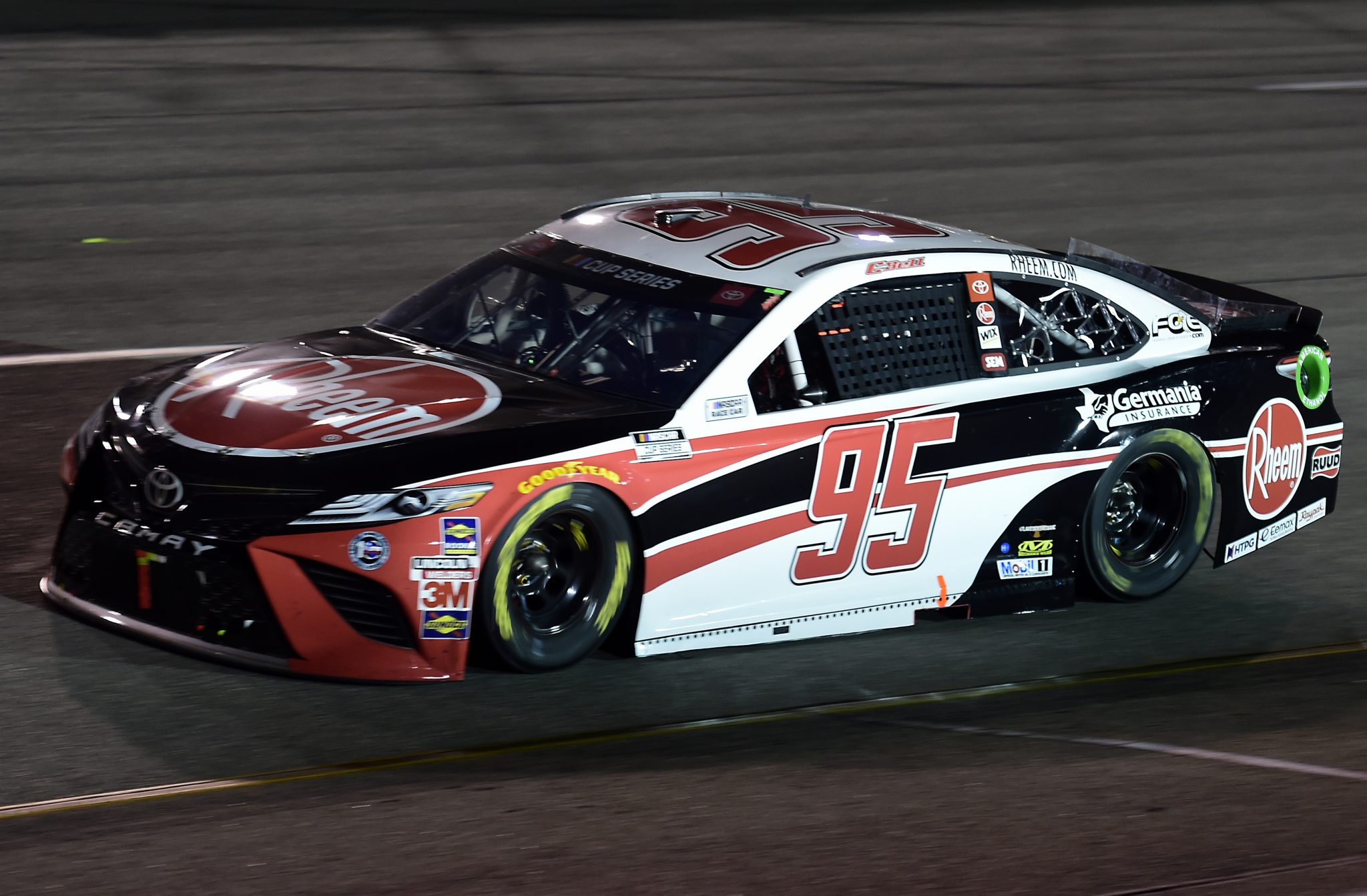 RICHMOND, VIRGINIA - SEPTEMBER 12: Christopher Bell, driver of the #95 Toyota, drives during the NASCAR Cup Series Federated Auto Parts 400 at Richmond Raceway on September 12, 2020 in Richmond, Virginia. (Photo by Jared C. Tilton/Getty Images) | Getty Images