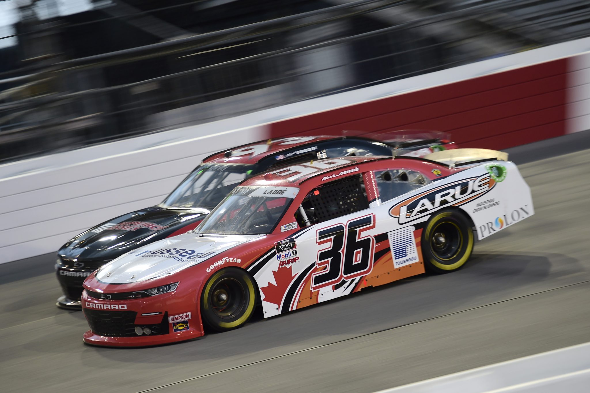 RICHMOND, VIRGINIA - SEPTEMBER 11: Alex Labbe, driver of the #36 DGM Racing Chevrolet, drives during the NASCAR Xfinity Series Go Bowling 250 at Richmond Raceway on September 11, 2020 in Richmond, Virginia. (Photo by Jared C. Tilton/Getty Images) | Getty Images