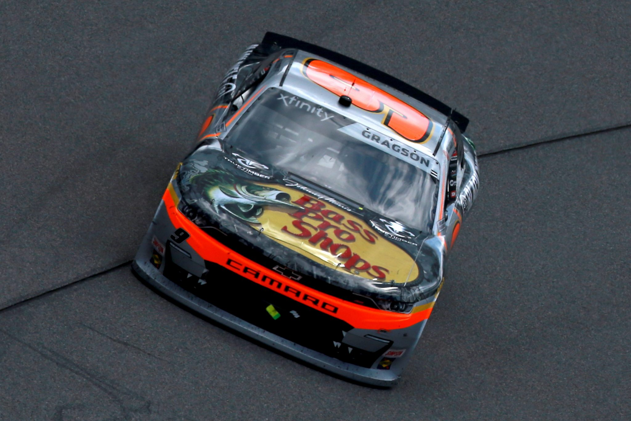 RICHMOND, VIRGINIA - SEPTEMBER 12: Noah Gragson, driver of the #9 Bass Pro Shops/TrueTimber Camo Chevrolet, drives during the NASCAR Xfinity Series Virginia is for Racing Lovers 250 at Richmond Raceway on September 12, 2020 in Richmond, Virginia. (Photo by Sean Gardner/Getty Images) | Getty Images