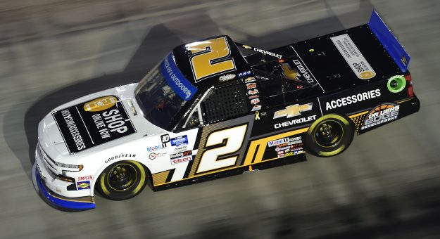 BRISTOL, TENNESSEE - SEPTEMBER 17: Sheldon Creed, driver of the #2 Chevy Accessories Chevrolet, drives during the NASCAR Gander RV & Outdoors Truck Series UNOH 200 presented by Ohio Logistics at Bristol Motor Speedway on September 17, 2020 in Bristol, Tennessee. (Photo by Jared C. Tilton/Getty Images) | Getty Images