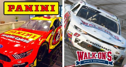 Walk-On's and Panini America sponsoring Gray Gaulding at Bristol