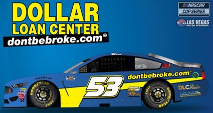 Dollar Loan Center joins Josh Bilicki for NASCAR Cup race in Las Vegas