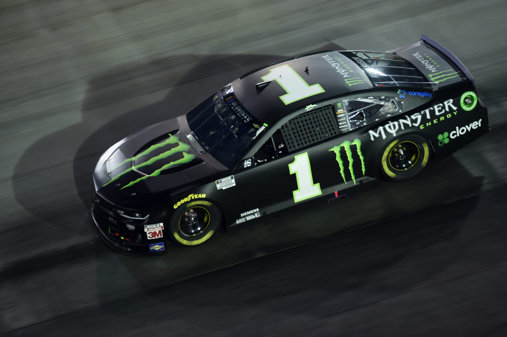 BRISTOL, TENNESSEE - SEPTEMBER 19: Kurt Busch, driver of the #1 Monster Energy Chevrolet, drives during the NASCAR Cup Series Bass Pro Shops Night Race at Bristol Motor Speedway on September 19, 2020 in Bristol, Tennessee. (Photo by Jared C. Tilton/Getty Images) | Getty Images