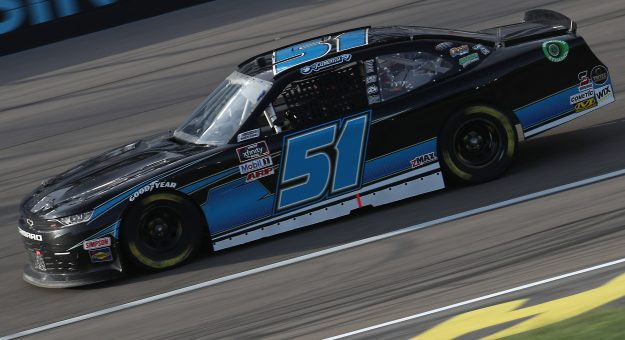 LAS VEGAS, NEVADA - SEPTEMBER 26: Jeremy Clements, driver of the #51 Chevrolet, drives during the NASCAR Xfinity Series Alsco 300 at Las Vegas Motor Speedway on September 26, 2020 in Las Vegas, Nevada. (Photo by Chris Graythen/Getty Images) | Getty Images