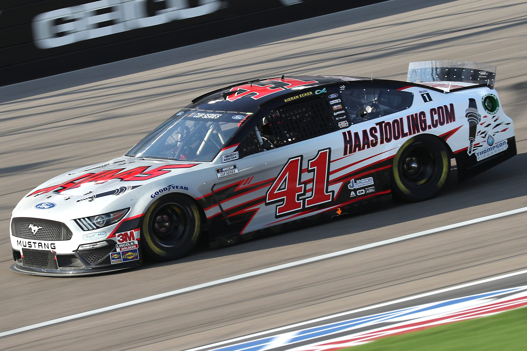 LAS VEGAS, NEVADA - SEPTEMBER 27: Cole Custer, driver of the #41 HaasTooling.com Ford, drives during the NASCAR Cup Series South Point 400 at Las Vegas Motor Speedway on September 27, 2020 in Las Vegas, Nevada. (Photo by Chris Graythen/Getty Images) | Getty Images