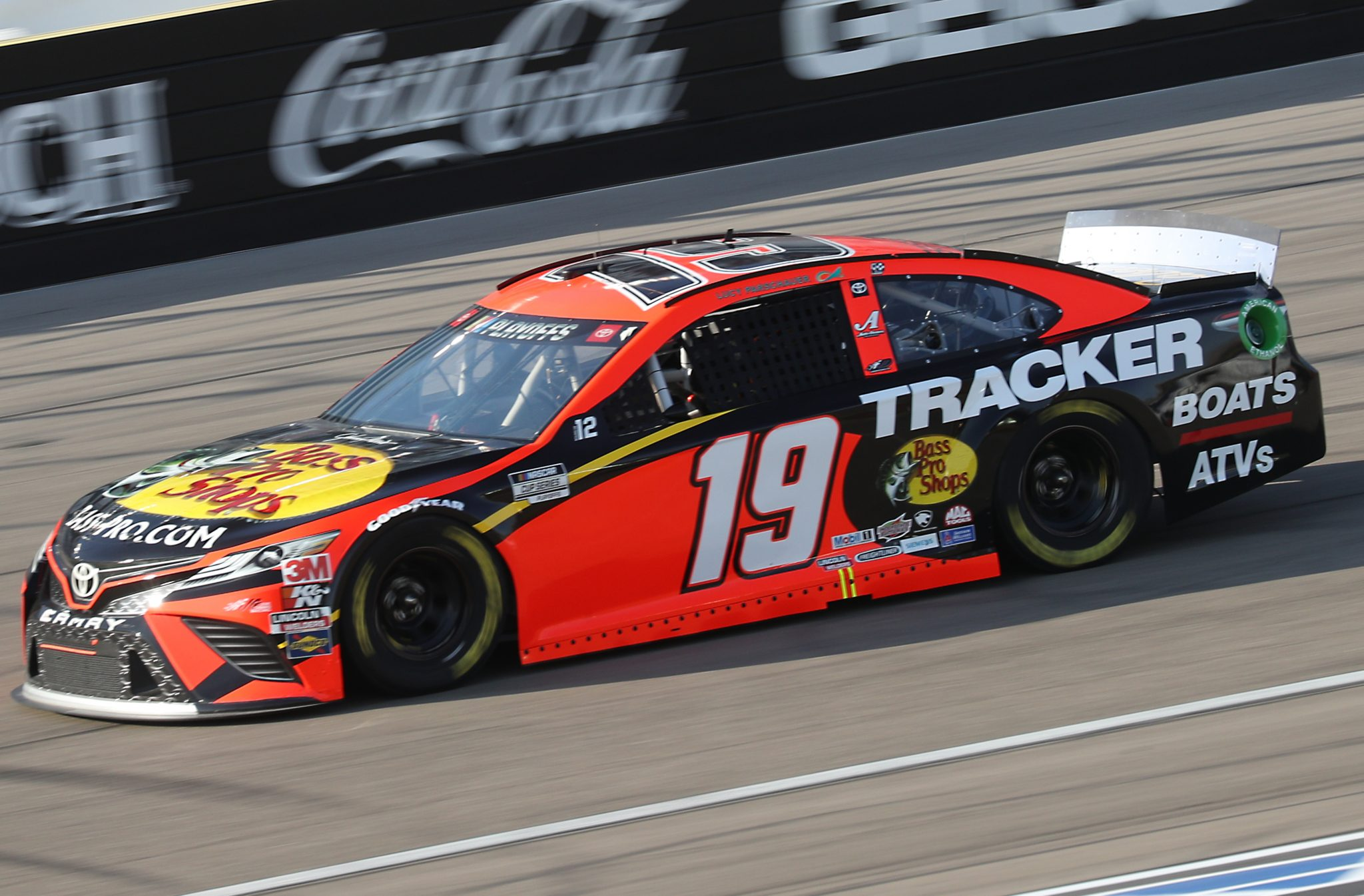 LAS VEGAS, NEVADA - SEPTEMBER 27: Martin Truex Jr., driver of the #19 Bass Pro Shops Toyota, drives during the NASCAR Cup Series South Point 400 at Las Vegas Motor Speedway on September 27, 2020 in Las Vegas, Nevada. (Photo by Chris Graythen/Getty Images) | Getty Images
