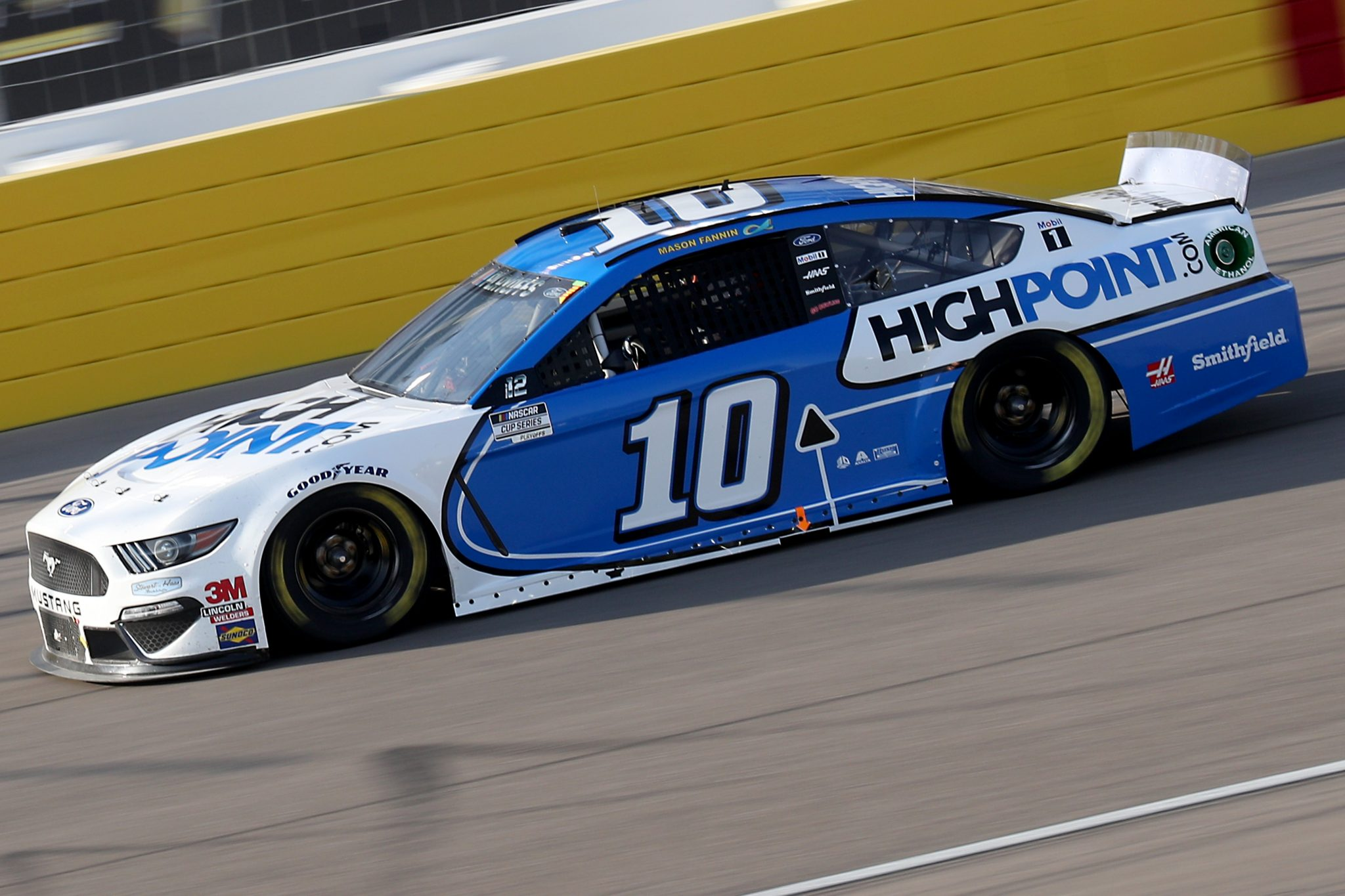 LAS VEGAS, NEVADA - SEPTEMBER 27: Aric Almirola, driver of the #10 HighPoint.com Ford, drives during the NASCAR Cup Series South Point 400 at Las Vegas Motor Speedway on September 27, 2020 in Las Vegas, Nevada. (Photo by Chris Graythen/Getty Images) | Getty Images