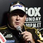 DAYTONA BEACH, FLORIDA - FEBRUARY 12: Brendan Gaughan, driver of the #62 Beard Motorsports/South Point Chevrolet, speaks with the media during the NASCAR Cup Series 62nd Annual Daytona 500 Media Day at Daytona International Speedway on February 12, 2020 in Daytona Beach, Florida. (Photo by Jared C. Tilton/Getty Images) | Getty Images