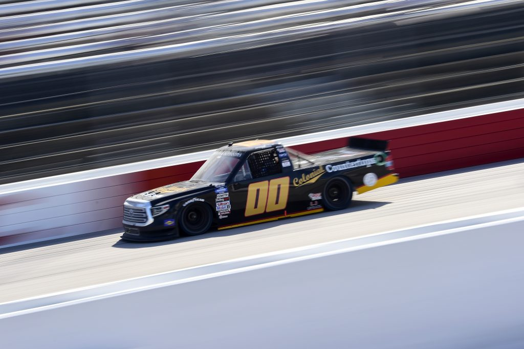 DARLINGTON, SOUTH CAROLINA - SEPTEMBER 06: Josh Reaume, driver of the #00 Toyota, drives during the NASCAR Gander Outdoors Truck Series  South Carolina Education Lottery 200 at Darlington Raceway on September 06, 2020 in Darlington, South Carolina. (Photo by Jared C. Tilton/Getty Images) | Getty Images