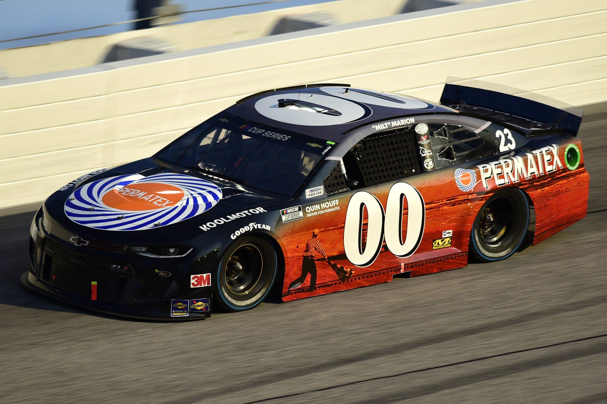 DARLINGTON, SOUTH CAROLINA - SEPTEMBER 06: Quin Houff, driver of the #00 Permatex Chevrolet, drives during the NASCAR Cup Series Cook Out Southern 500 at Darlington Raceway on September 06, 2020 in Darlington, South Carolina. (Photo by Jared C. Tilton/Getty Images) | Getty Images