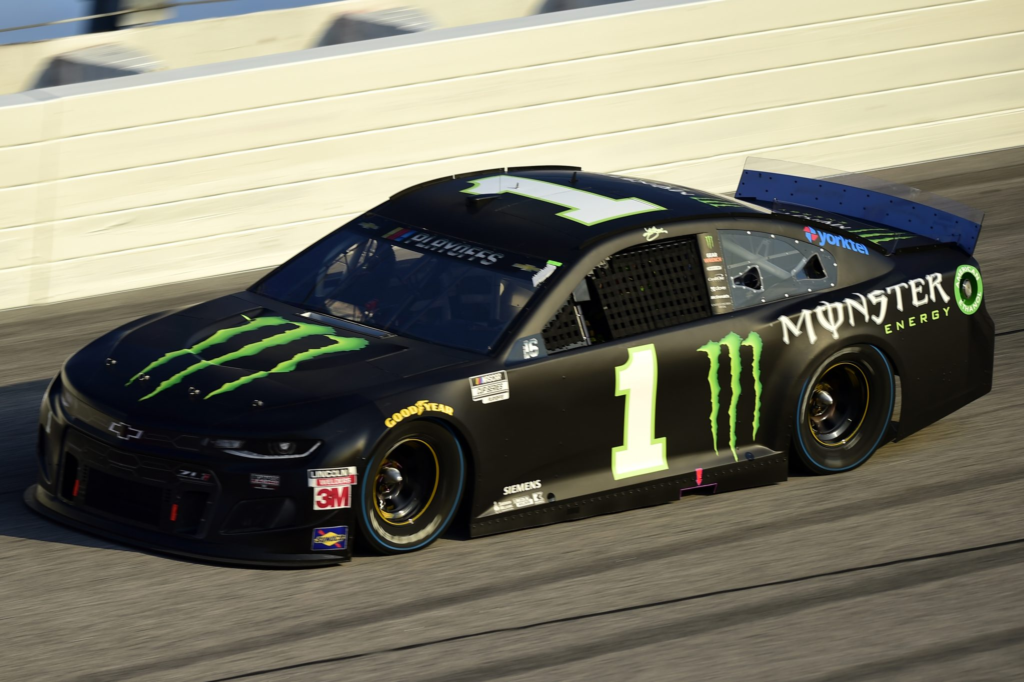 DARLINGTON, SOUTH CAROLINA - SEPTEMBER 06: Kurt Busch, driver of the #1 Monster Energy Chevrolet, drives during the NASCAR Cup Series Cook Out Southern 500 at Darlington Raceway on September 06, 2020 in Darlington, South Carolina. (Photo by Jared C. Tilton/Getty Images) | Getty Images