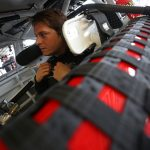 DAYTONA BEACH, FLORIDA - JULY 04: Landon Cassill, driver of the #4 Flex Seal/Contec Chevrolet, sits in his car during practice for the NASCAR Xfinity Series Circle K Firecracker 250 Powered by Coca-Cola at Daytona International Speedway on July 04, 2019 in Daytona Beach, Florida. (Photo by Matt Sullivan/Getty Images) | Getty Images