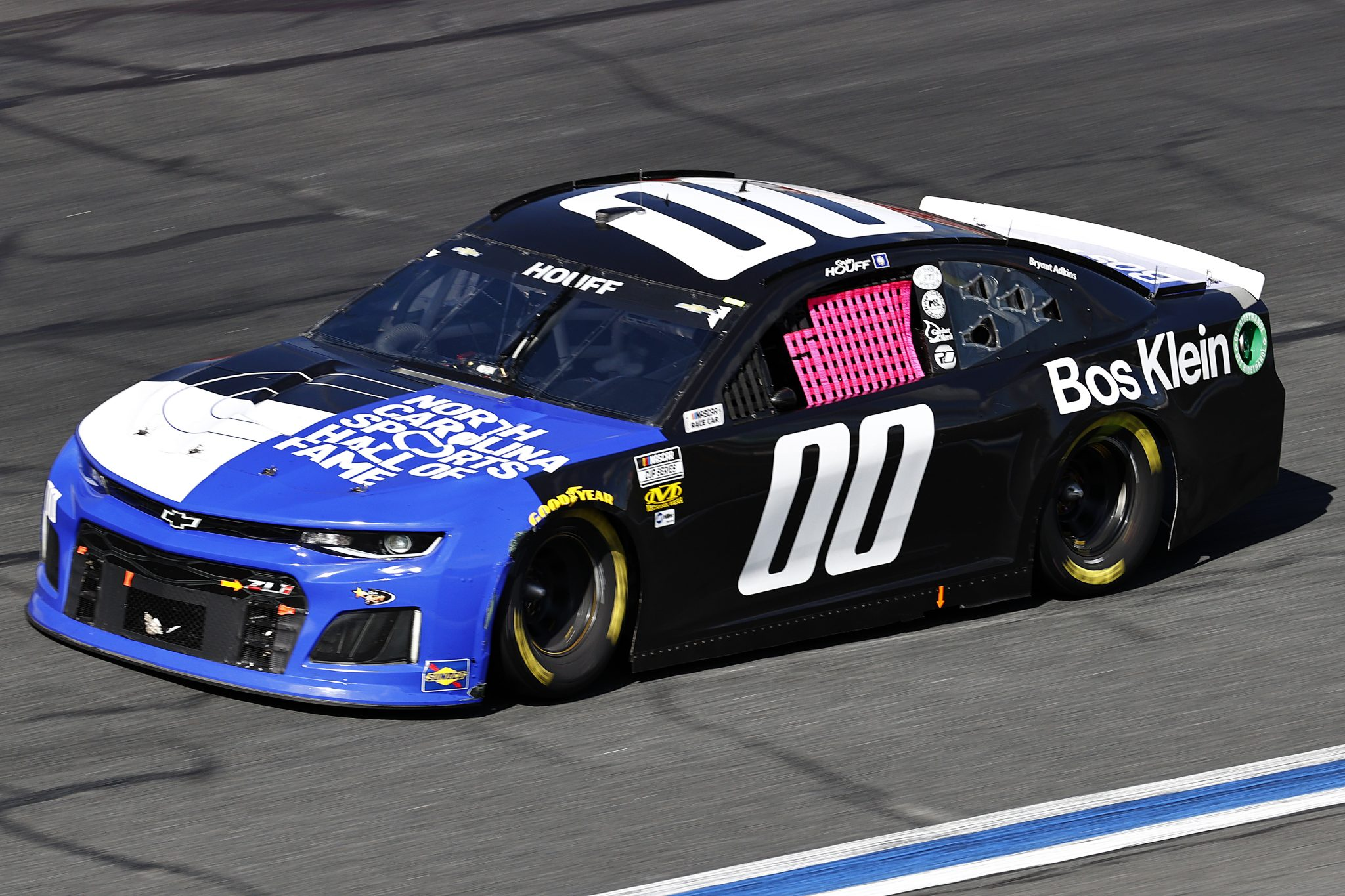 CONCORD, NORTH CAROLINA - OCTOBER 10: Quin Houff, driver of the #00 NC Sports HOF/Bos Klein Chevrolet, drives during the NASCAR Cup Series Bank of America ROVAL 400 at Charlotte Motor Speedway on October 10, 2021 in Concord, North Carolina. (Photo by Jared C. Tilton/Getty Images) | Getty Images