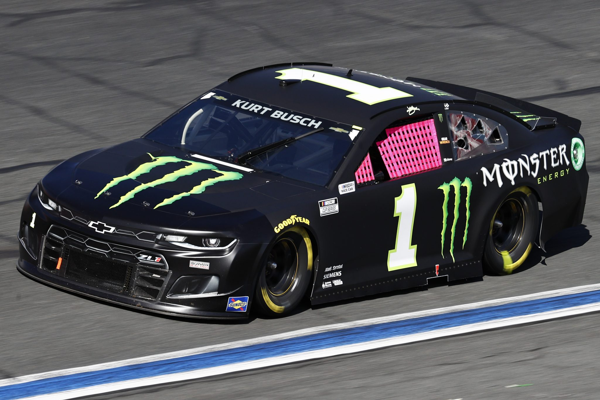CONCORD, NORTH CAROLINA - OCTOBER 10: Kurt Busch, driver of the #1 Monster Energy Chevrolet, drives during the NASCAR Cup Series Bank of America ROVAL 400 at Charlotte Motor Speedway on October 10, 2021 in Concord, North Carolina. (Photo by Jared C. Tilton/Getty Images) | Getty Images