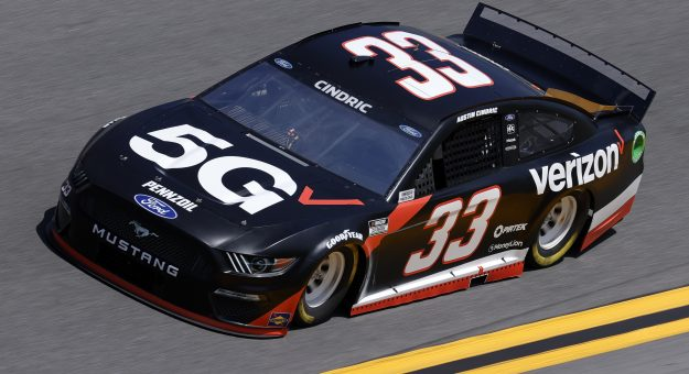 DAYTONA BEACH, FLORIDA - FEBRUARY 10: Austin Cindric, driver of the #33 Verizon 5G Ford, drives during practice for the NASCAR Cup Series 63rd Annual Daytona 500 at Daytona International Speedway on February 10, 2021 in Daytona Beach, Florida. (Photo by Jared C. Tilton/Getty Images) | Getty Images
