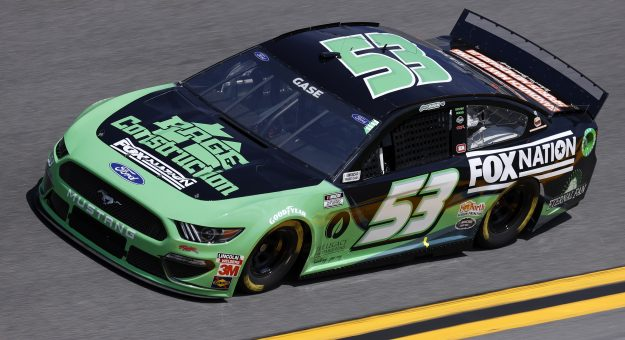 DAYTONA BEACH, FLORIDA - FEBRUARY 10: Joey Gase, driver of the #53 Page Construction Ford, drives during practice for the NASCAR Cup Series 63rd Annual Daytona 500 at Daytona International Speedway on February 10, 2021 in Daytona Beach, Florida. (Photo by Jared C. Tilton/Getty Images) | Getty Images