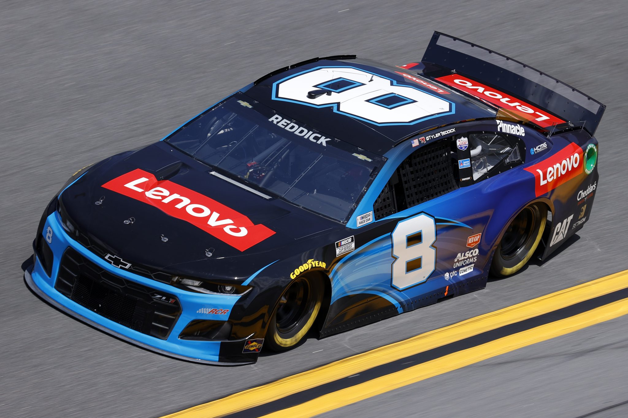 DAYTONA BEACH, FLORIDA - FEBRUARY 10: Tyler Reddick, driver of the #8 Lenovo Chevrolet, during practice for the NASCAR Cup Series 63rd Annual Daytona 500 at Daytona International Speedway on February 10, 2021 in Daytona Beach, Florida. (Photo by Jared C. Tilton/Getty Images) | Getty Images