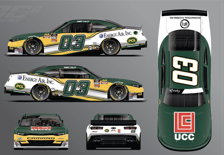 Andy Lally 03 Paint Scheme