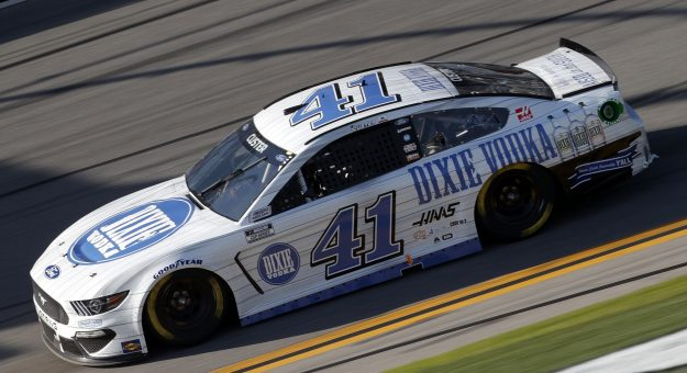 DAYTONA BEACH, FLORIDA - FEBRUARY 21: Cole Custer, driver of the #41 Dixie Vodka Ford, drives during the NASCAR Cup Series O'Reilly Auto Parts 253 at Daytona International Speedway on February 21, 2021 in Daytona Beach, Florida. (Photo by Chris Graythen/Getty Images) | Getty Images