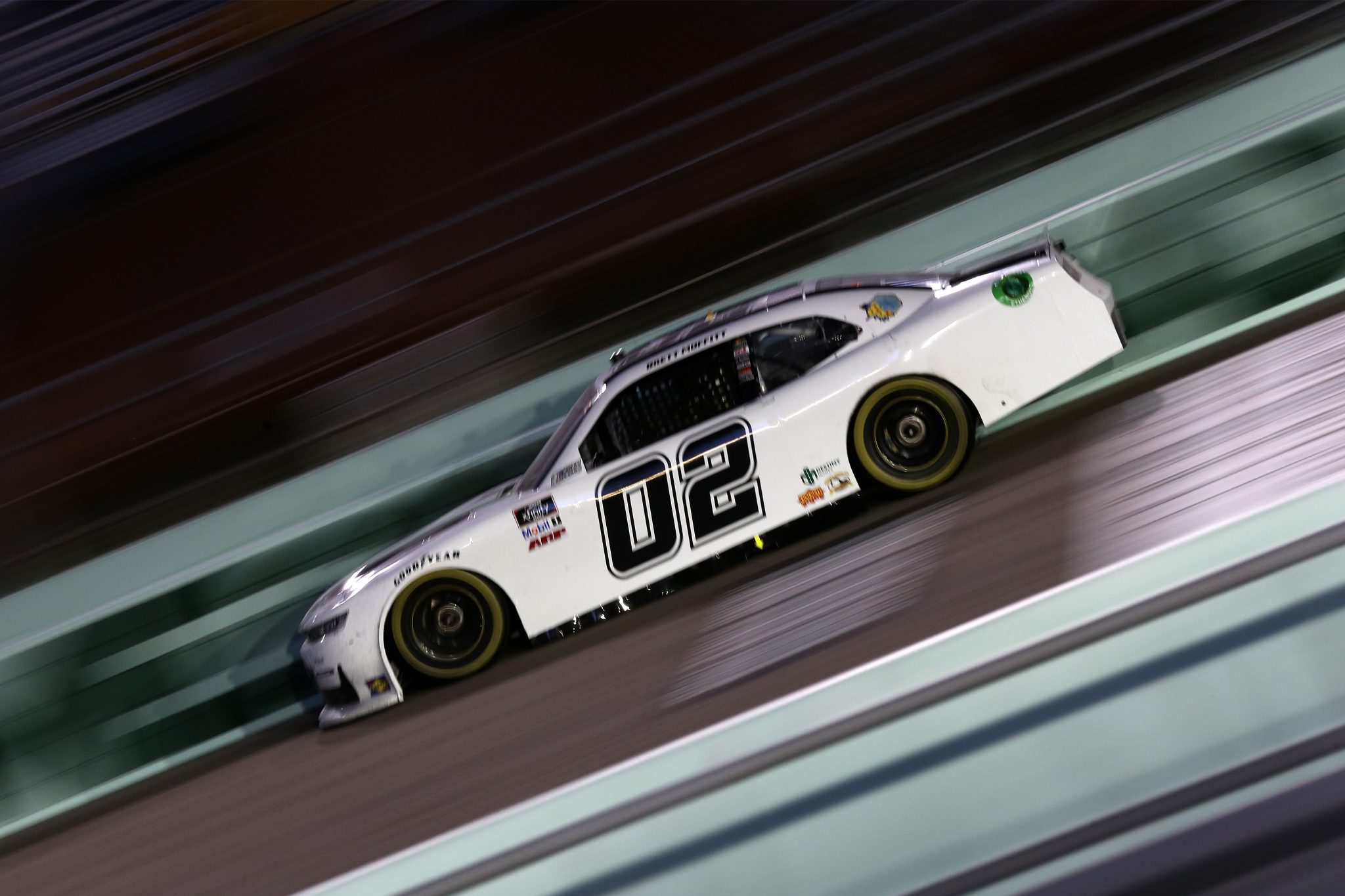 HOMESTEAD, FLORIDA - FEBRUARY 27: Brett Moffitt, driver of the #02 Chevrolet, drives during the NASCAR Xfinity Series Contender Boats 250 at Homestead-Miami Speedway on February 27, 2021 in Homestead, Florida. (Photo by Sean Gardner/Getty Images) | Getty Images