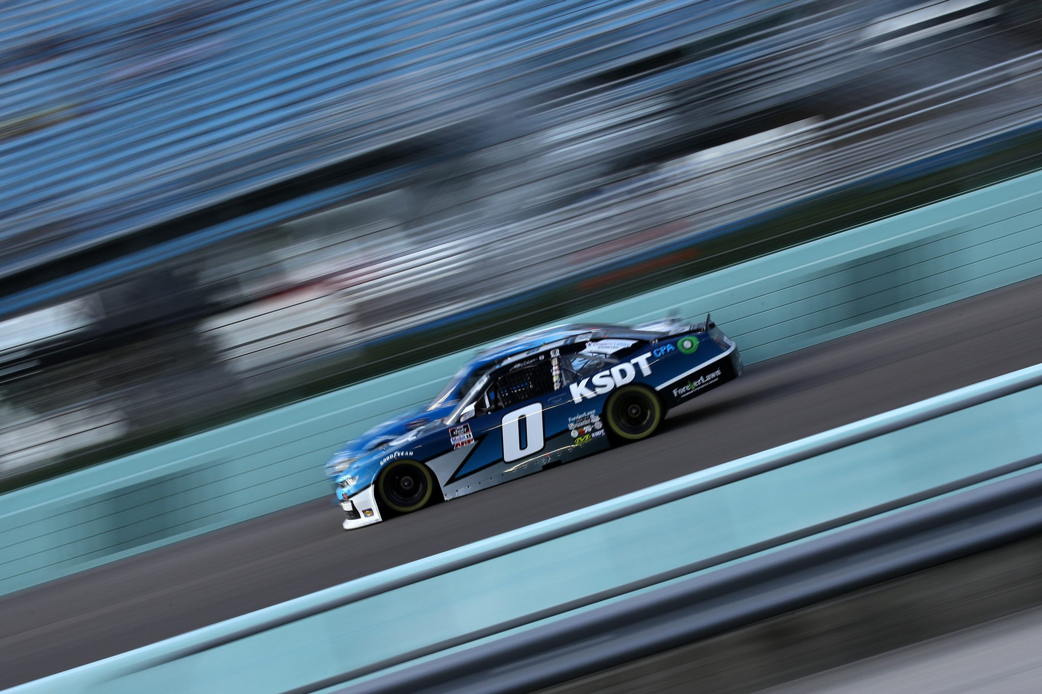 HOMESTEAD, FLORIDA - FEBRUARY 27: Jeffrey Earnhardt, driver of the #0 KSDT CPA Chevrolet, drives during the NASCAR Xfinity Series Contender Boats 250 at Homestead-Miami Speedway on February 27, 2021 in Homestead, Florida. (Photo by Sean Gardner/Getty Images) | Getty Images