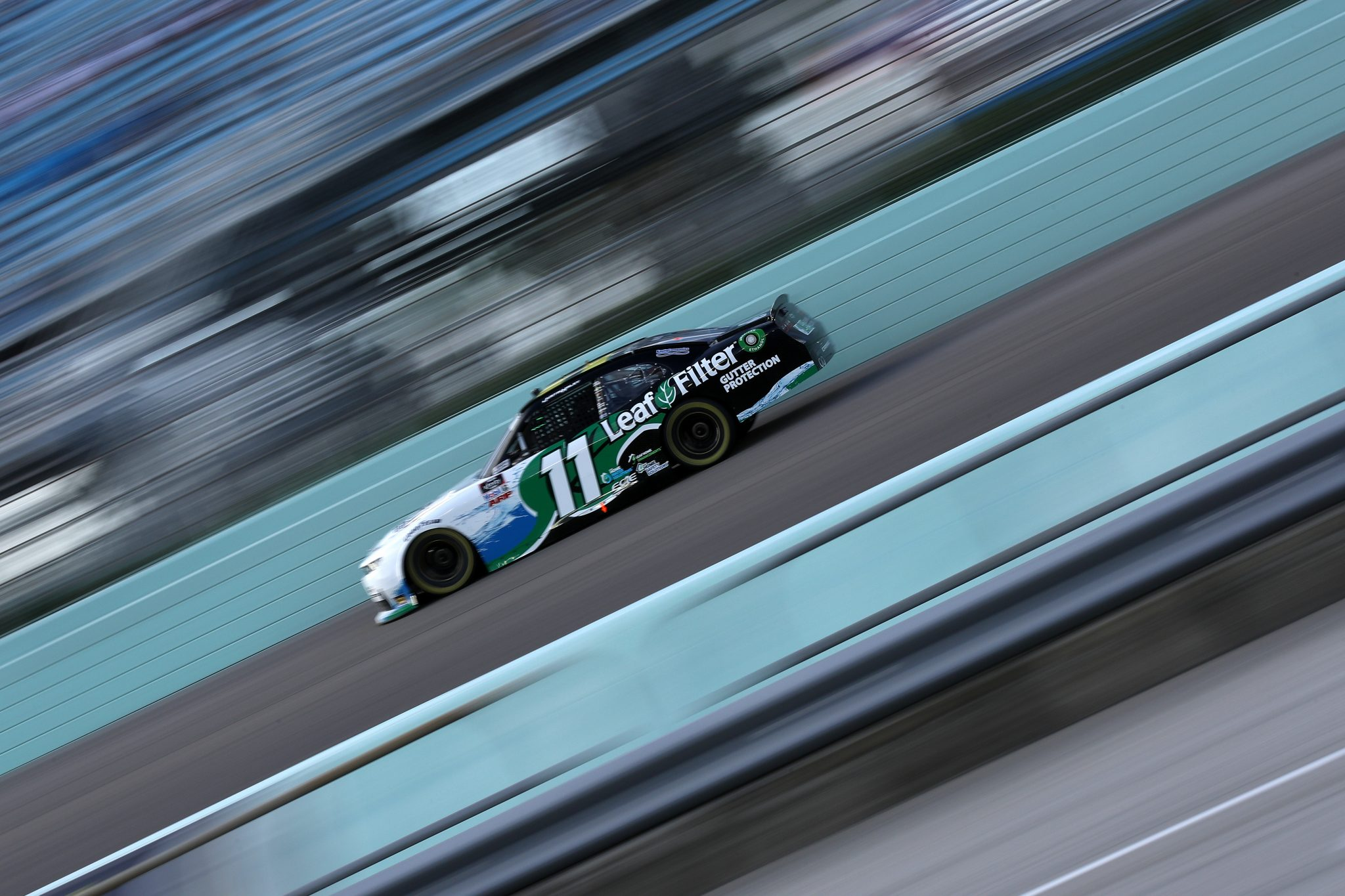 HOMESTEAD, FLORIDA - FEBRUARY 27: Justin Haley, driver of the #11 LeafFilter Gutter Protection Chevrolet, drives during the NASCAR Xfinity Series Contender Boats 250 at Homestead-Miami Speedway on February 27, 2021 in Homestead, Florida. (Photo by Sean Gardner/Getty Images) | Getty Images