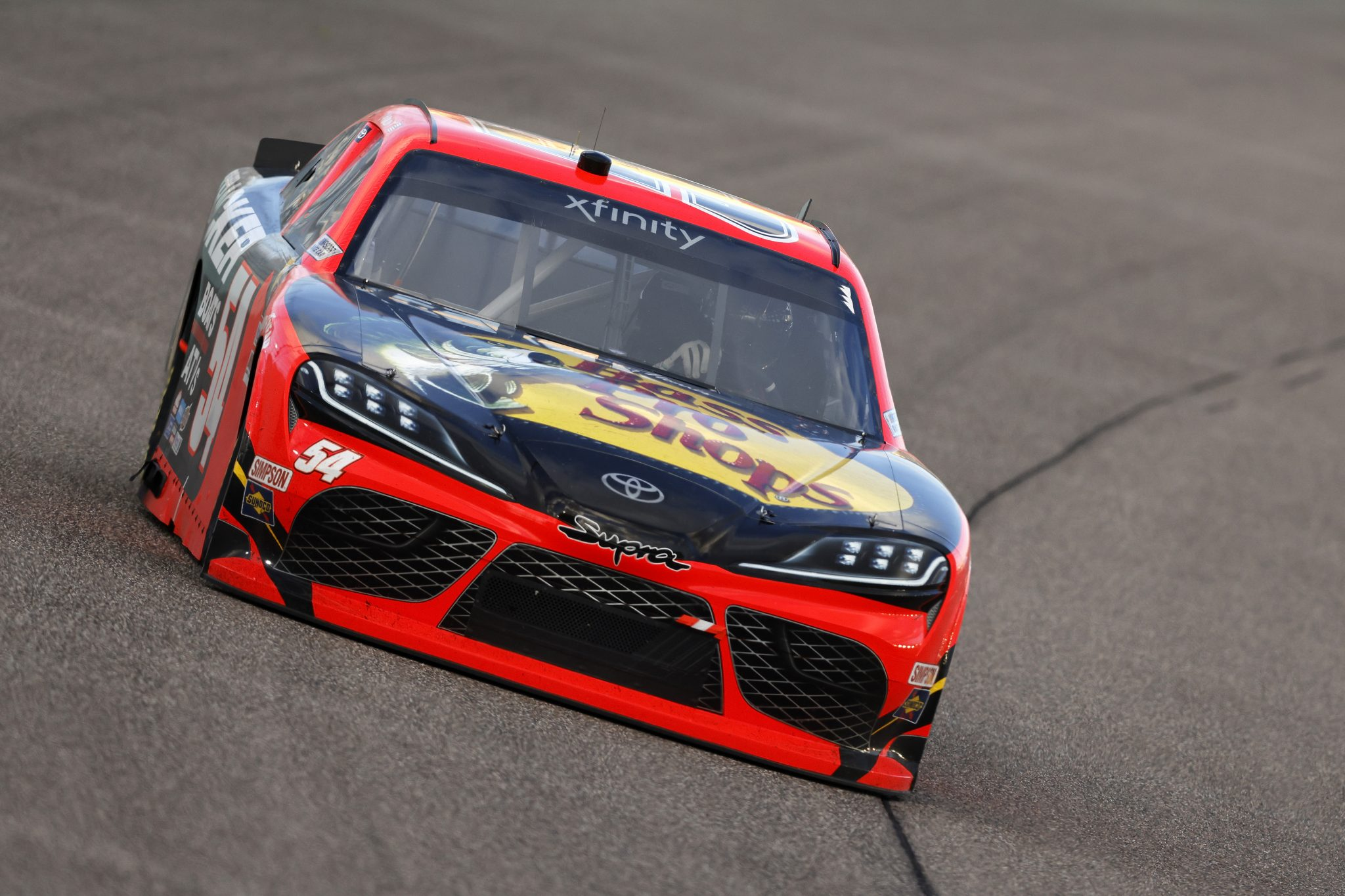 HOMESTEAD, FLORIDA - FEBRUARY 27: Ty Dillon, driver of the #54 Bass Pro Shops Toyota, drives during the NASCAR Xfinity Series Contender Boats 250 at Homestead-Miami Speedway on February 27, 2021 in Homestead, Florida. (Photo by Michael Reaves/Getty Images) | Getty Images